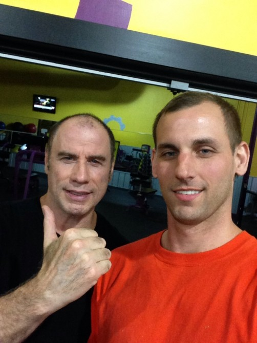 John Travolta Gym
