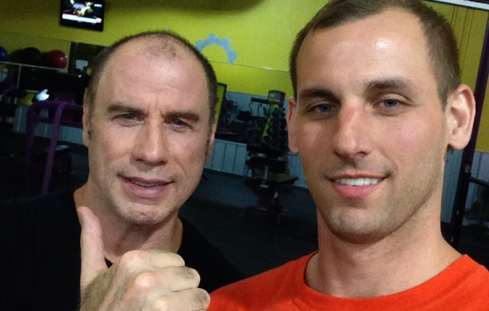 John Travolta Gym Featured