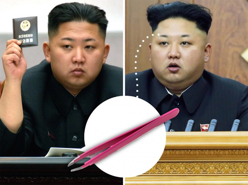 Kim Jong Un Eyebrows