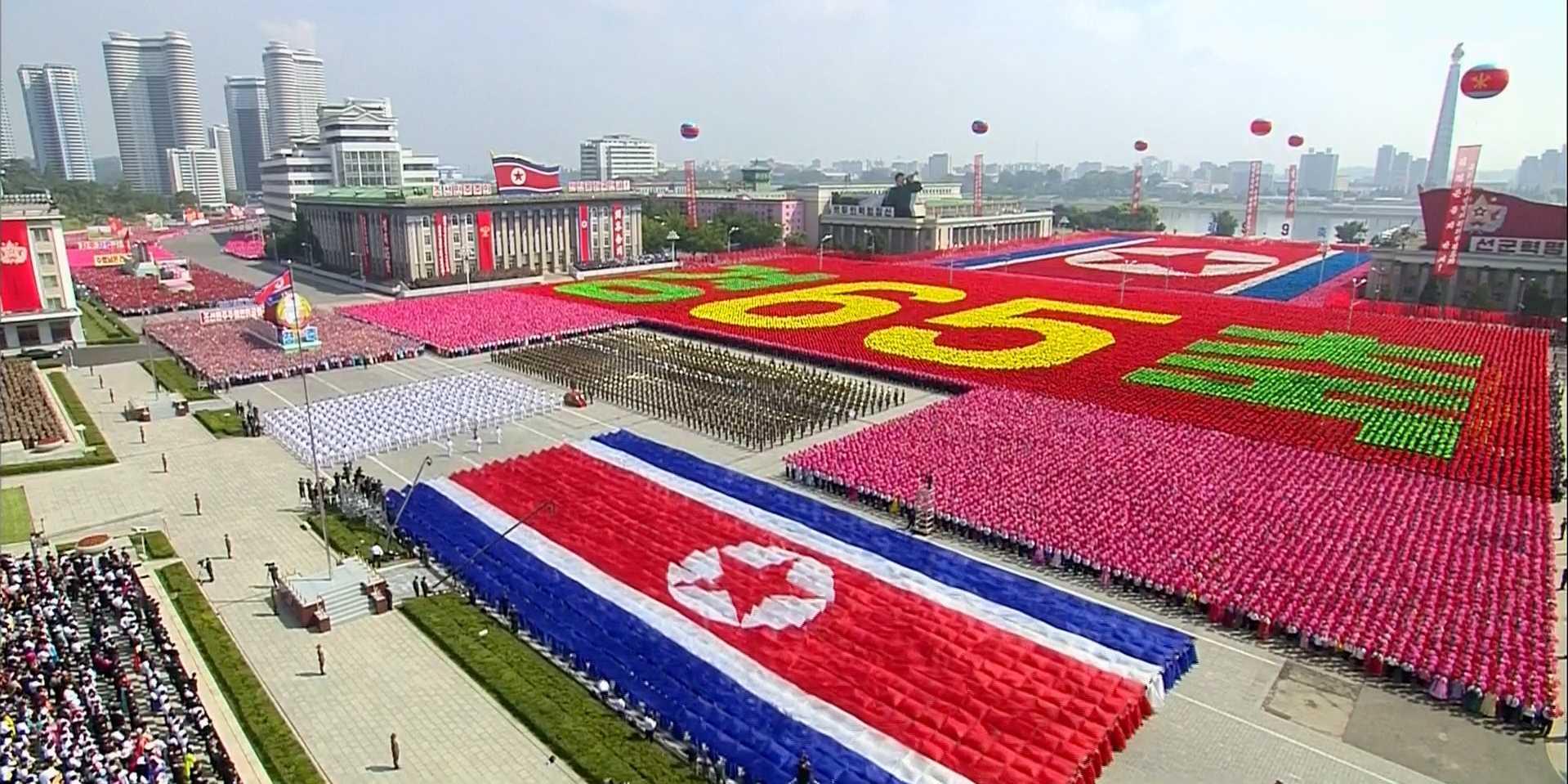 Korea-Parade