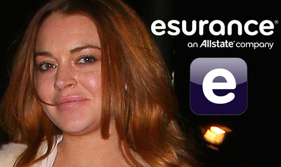 Lindsay Lohan Esurance