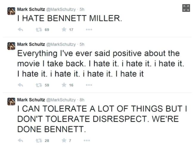 Mark Schultz Twitter Rant 2