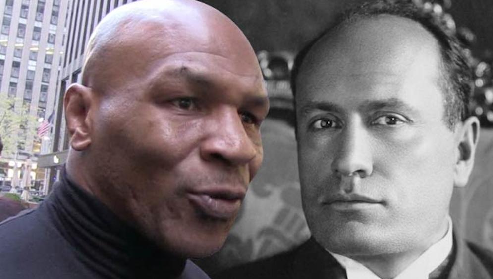 Mike Tyson Mussolini