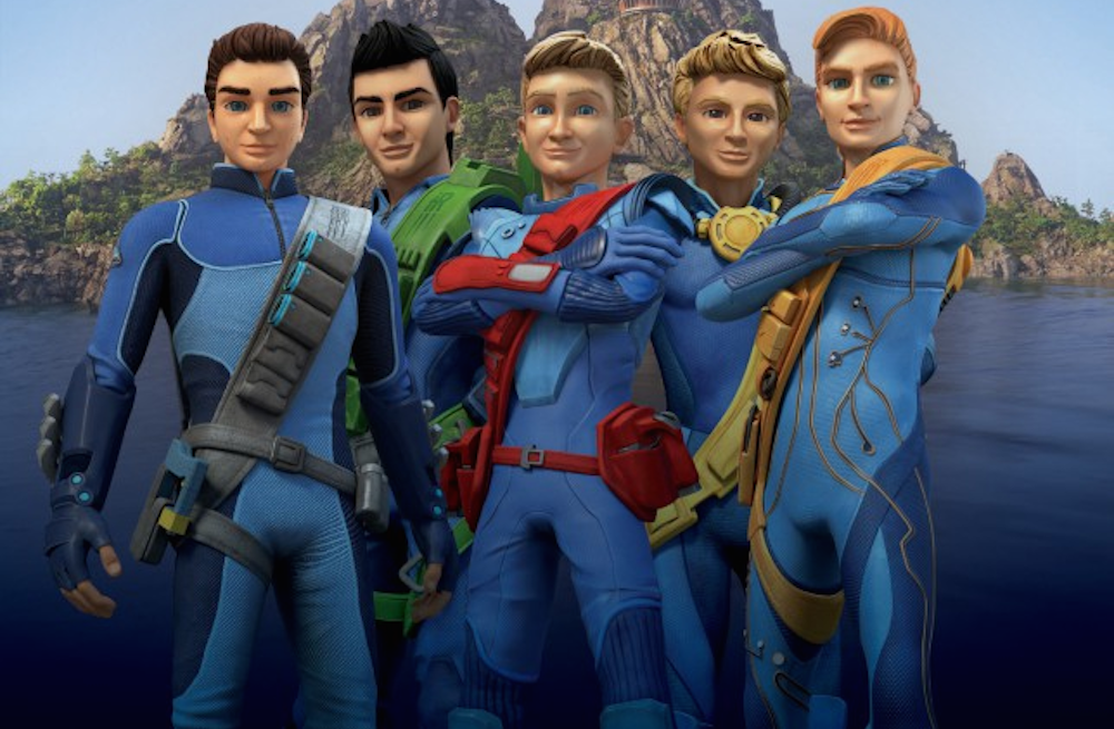 New ThunderBirds Characters
