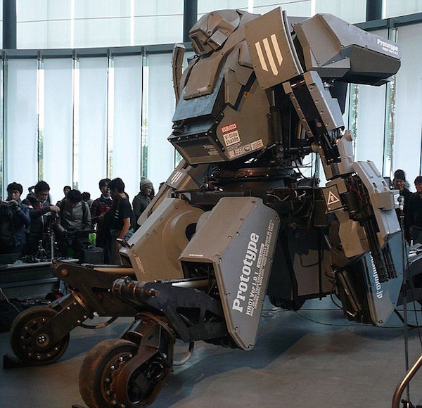 Real Life Transformers Suit 5