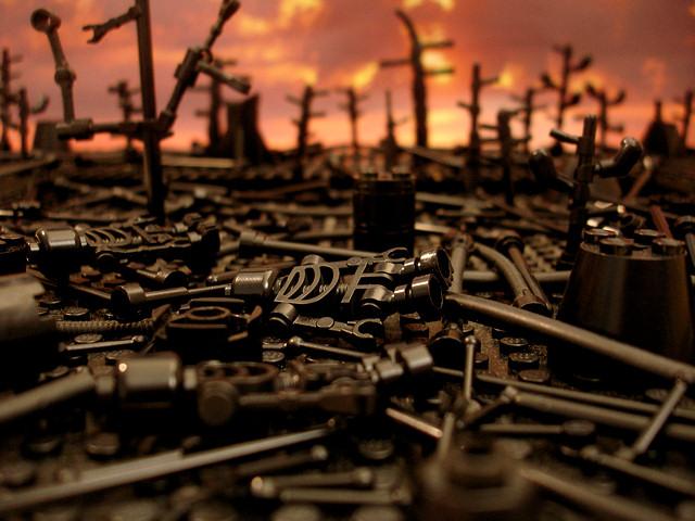 The Brick Testament - Earth Burning 2