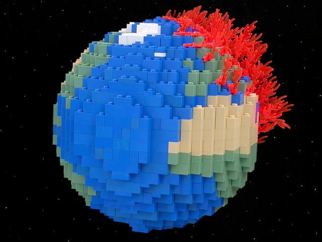 The Brick Testament - Earth Burning