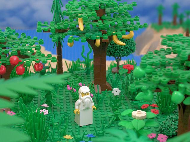 The Brick Testament - Eden