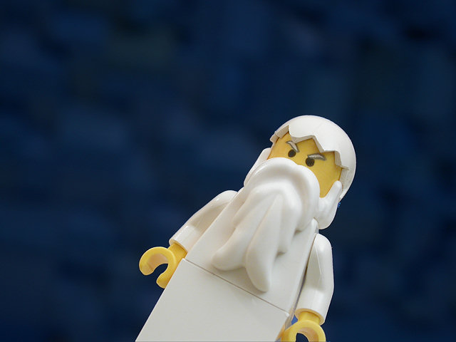 The Brick Testament - God