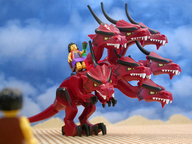 The Brick Testament - Gorefest beast