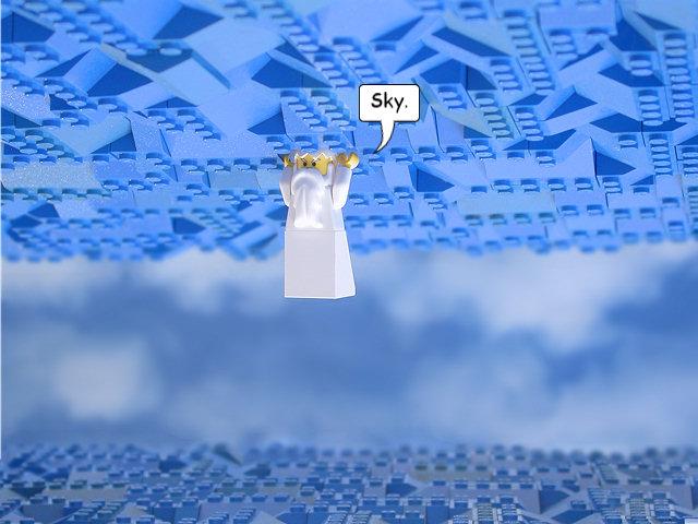 The Brick Testament - Sky