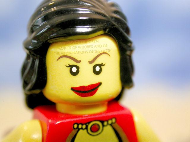 The Brick Testament - whore