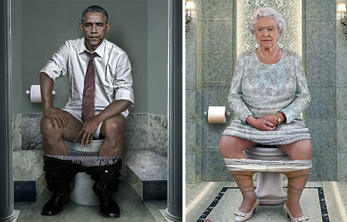 World Leaders Toilet