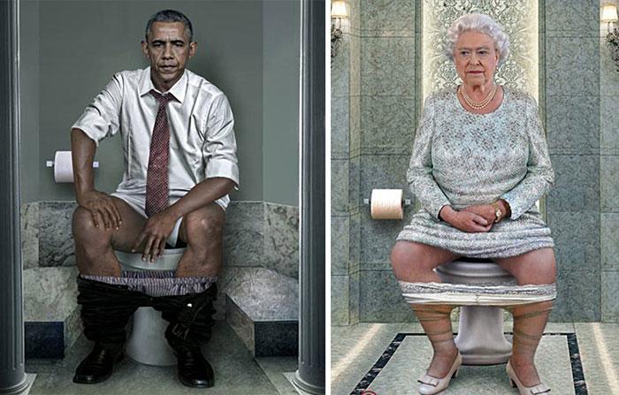 World Leaders Toilet