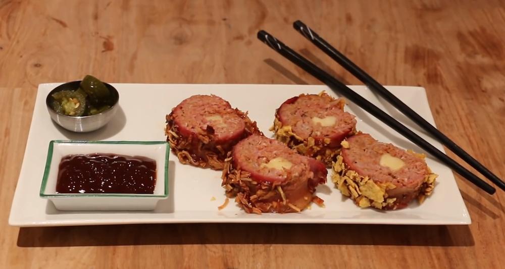 BBQ Bacon Sushi