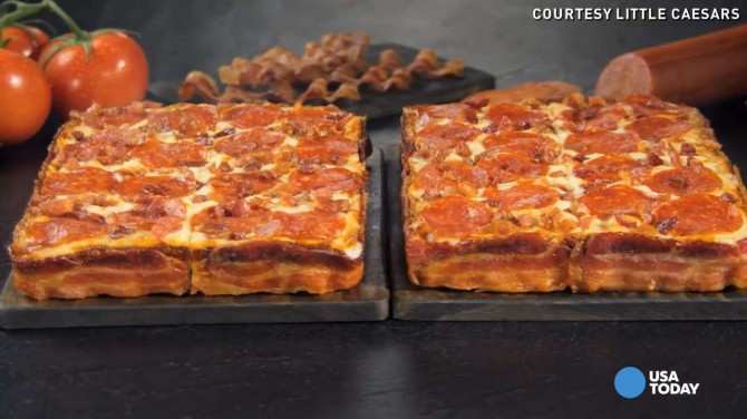 Bacon Wrapped Pizza 2