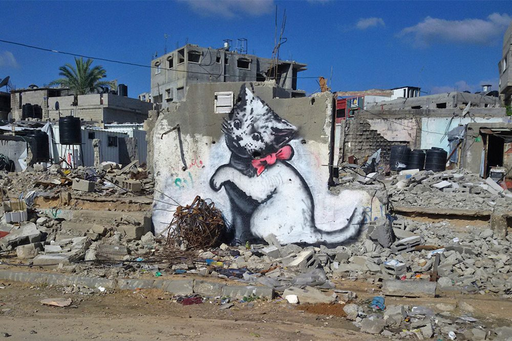 Banksy Gaza Strip
