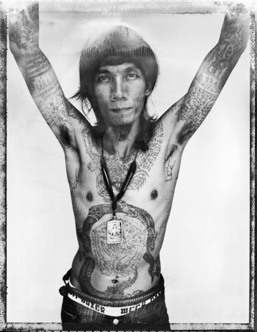 Cedric Arnold Vantra Tattoo Thailand - Front