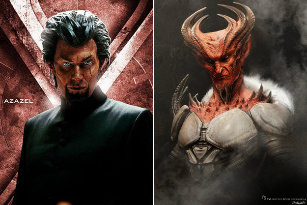 Early Concept Art - Azazel - X Men First Class