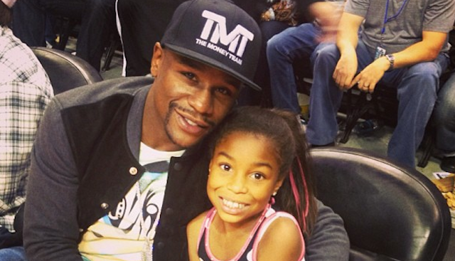 Floyd MAyweather Daughter