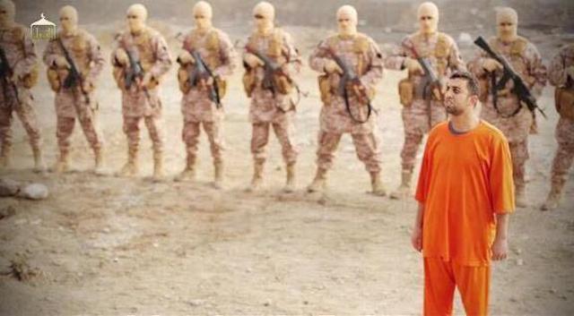 ISIS Burn Jordanian Pilot 1