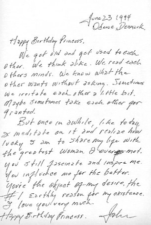 Johnny Cash Love Letter