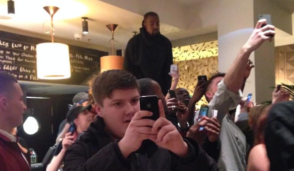 Kanye West Nando's