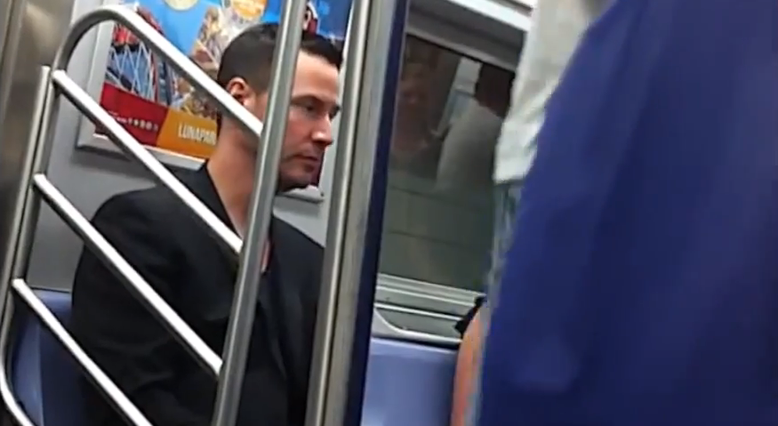 Keanu Reeves Subway