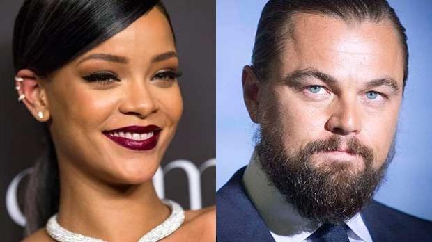 Leonardo DiCaprio Rihanna 2