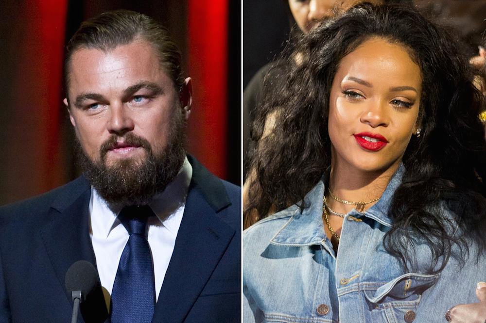 Leonardo DiCaprio Rihanna
