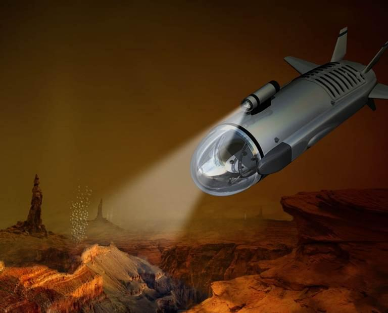 NASA releases details of Titan submarine concept - header