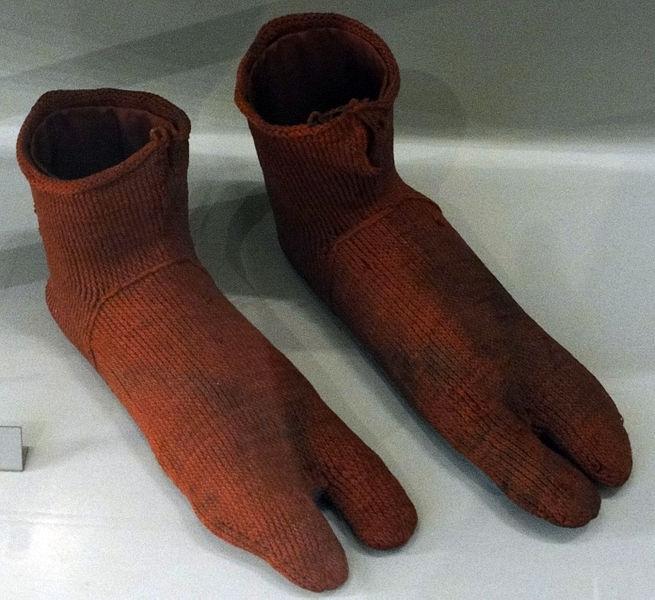 Oldest Everyday Items - Egyptian Socks