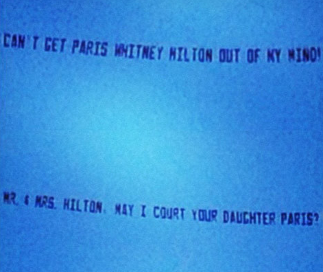 Pairs Hilton Stalker Plane Messages