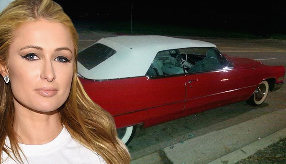 Paris Hilton Cadillac Stalker