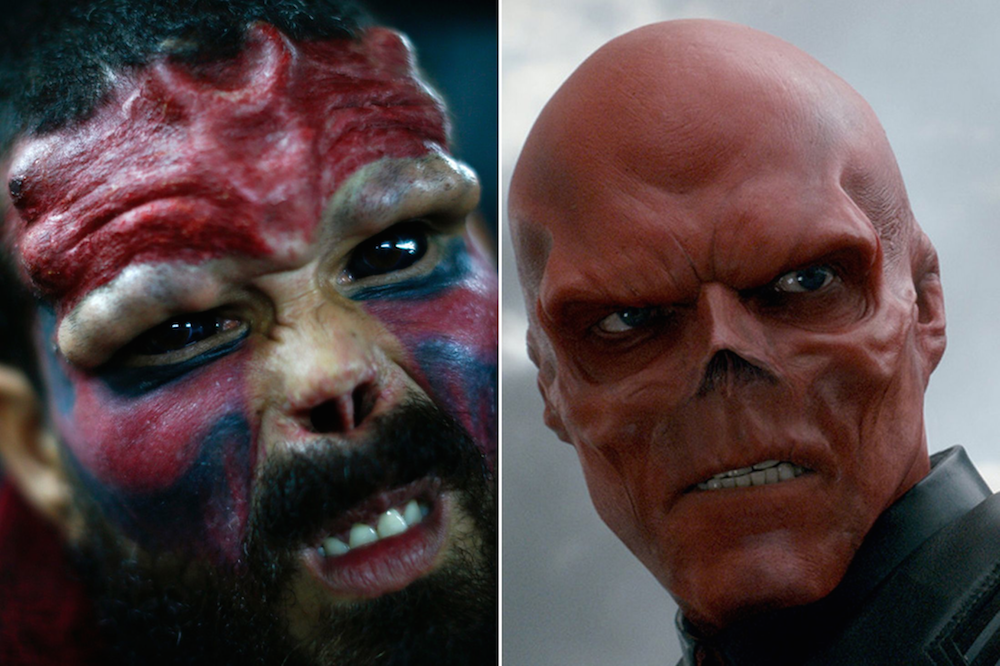 Real Life Red Skull