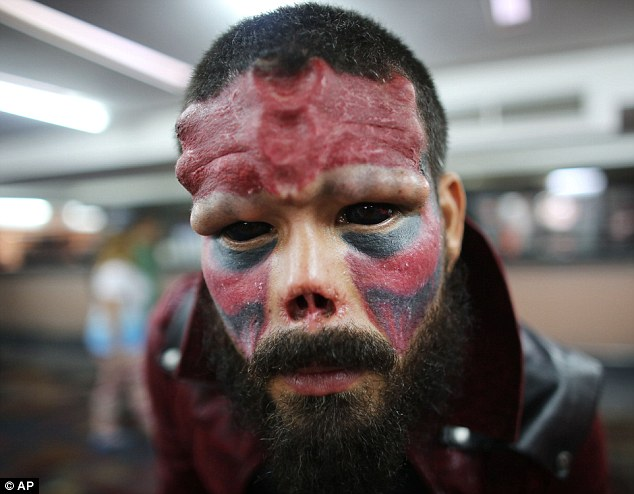 Real Life Red Skull 3