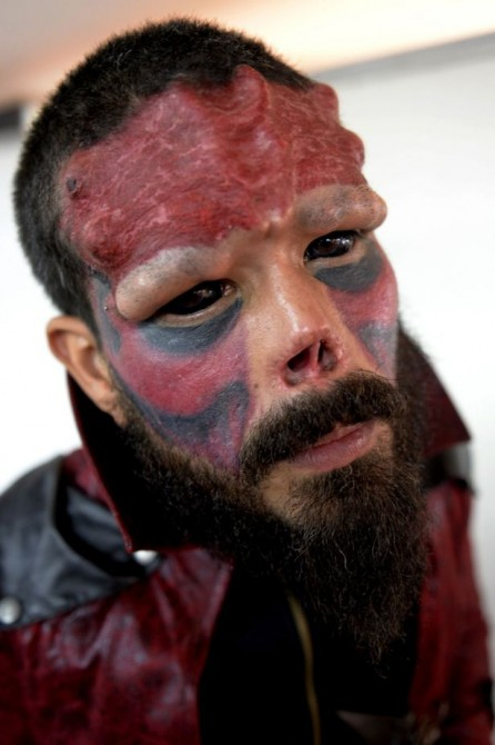 Real Life Red Skull 4