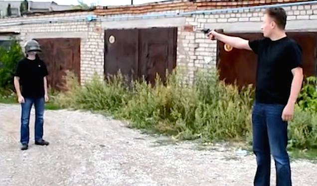 Russian Man Bomb Proof Helmet