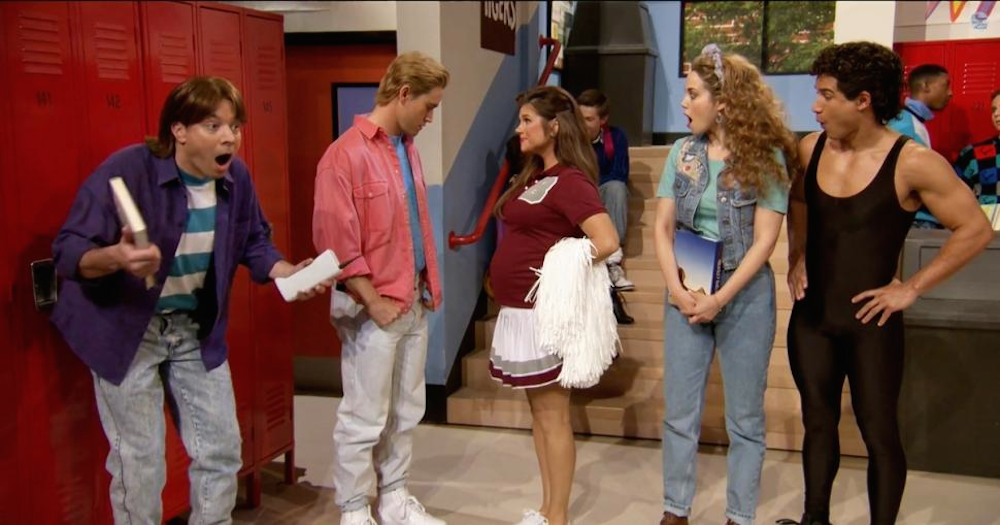 Saved By The Bell Reunion Jimmy Fallon