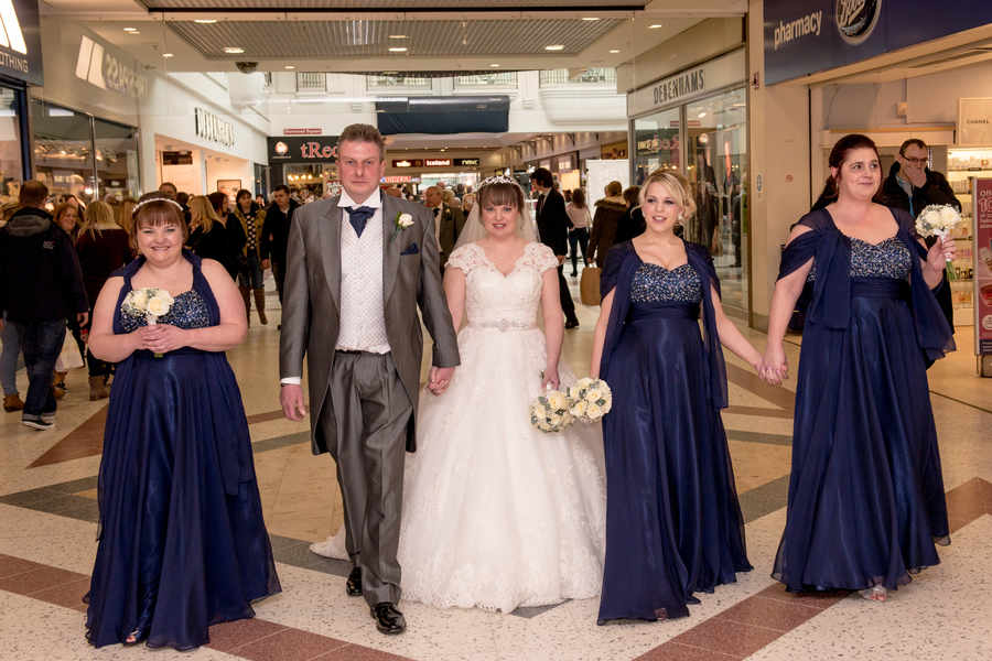 Shopping Centre Wedding Featured