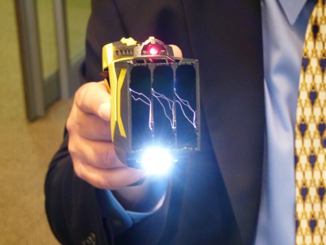 Taser Use Children UK - sparks