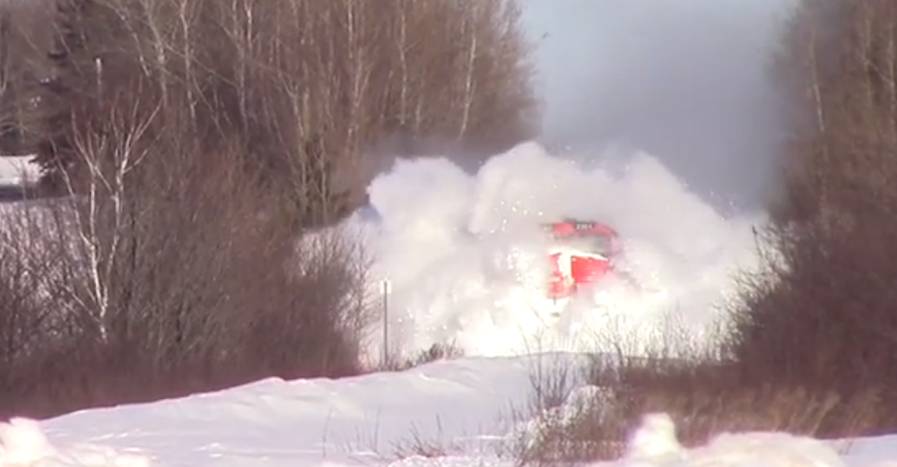 Train Vs Snow