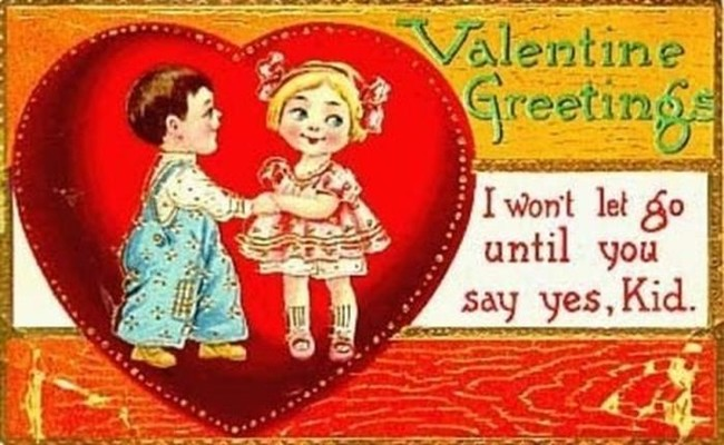 Vintage Valentine's Day Cards Featured