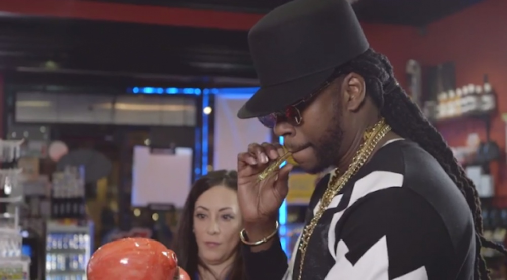 2 Chainz Smoking Weed