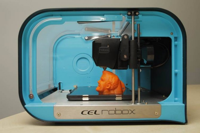 3D Printer Jeremy Clarkson