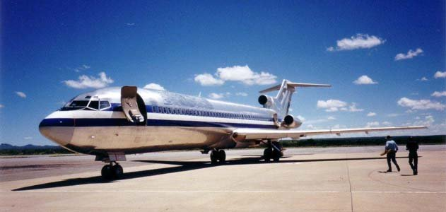 Aircraft Vanished - Stolen Boeing 727-223 Angola Plane