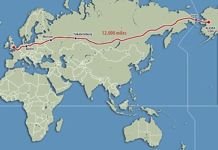 Alaska to London Road