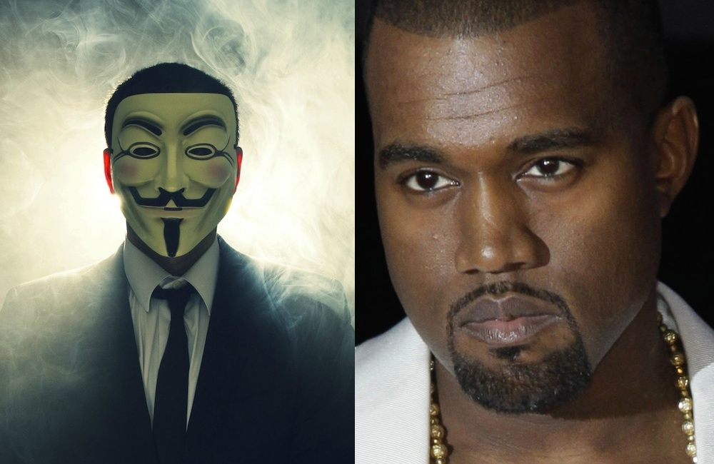 Anonymous Kanye West