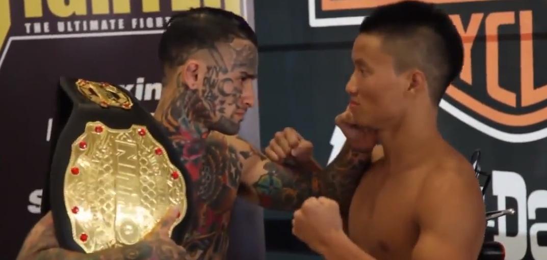 Cocky Tattooed MMA Fighter