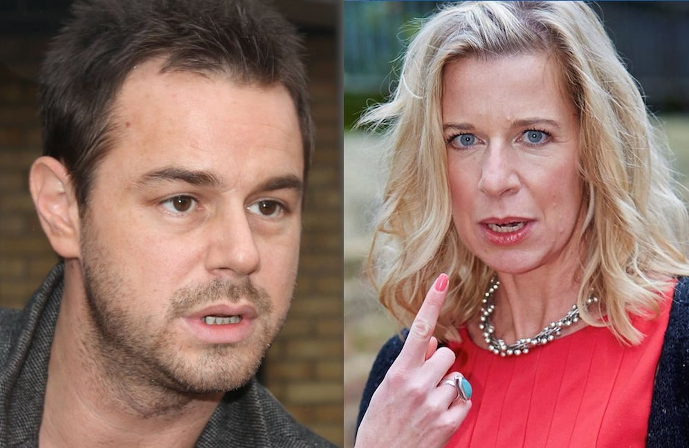Danny Dyer KAtie Hopkins Twitter War